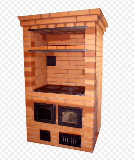 печь шведка с духовкой и плитой