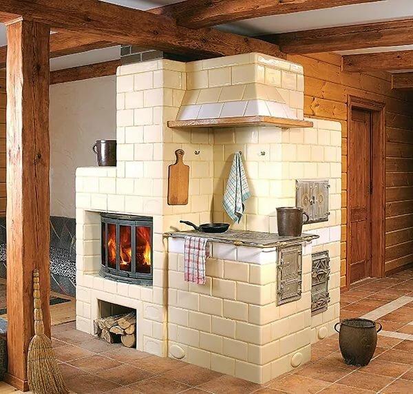 чем покрасить кирпичную печь в доме