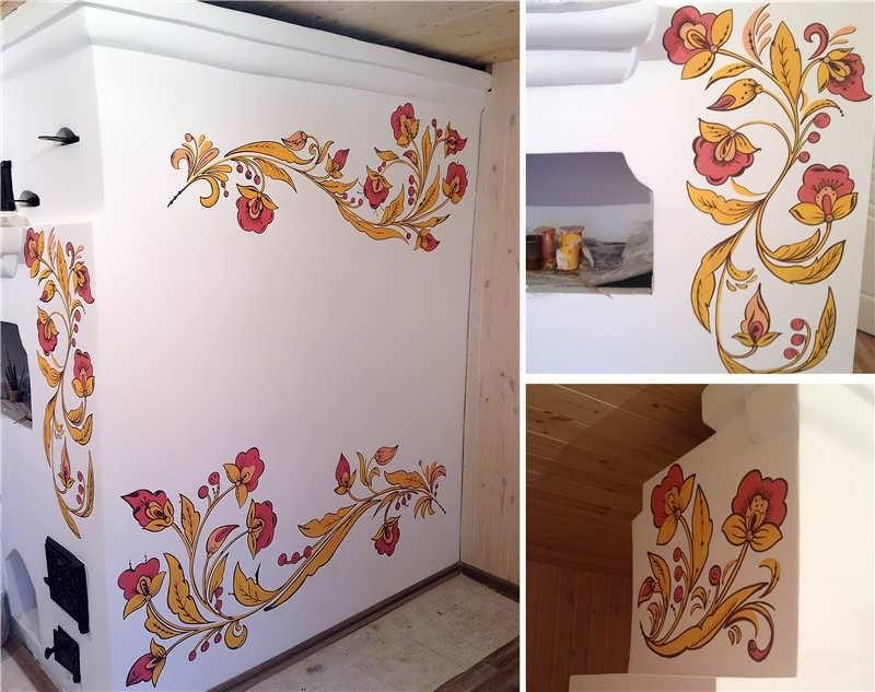 Как покрасить печь
