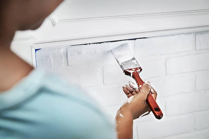 Как покрасить печку в доме