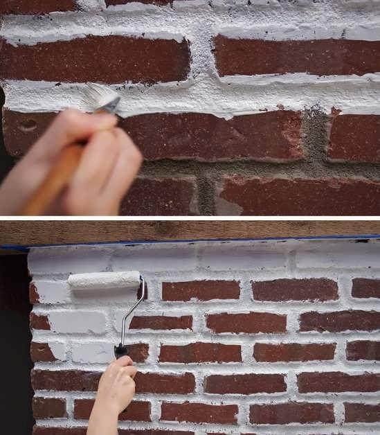 Как покрасить печь в доме