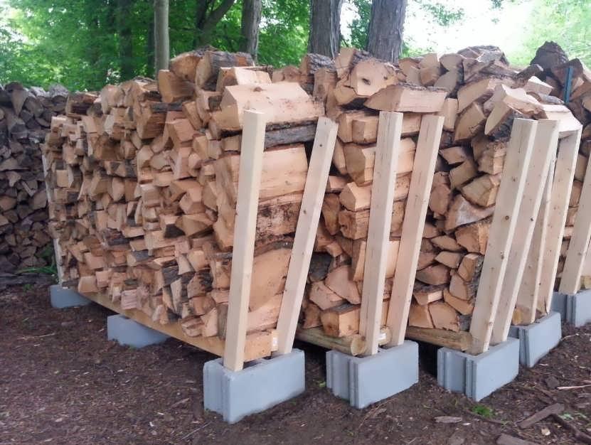 Дровники для дачи деревянные своими руками