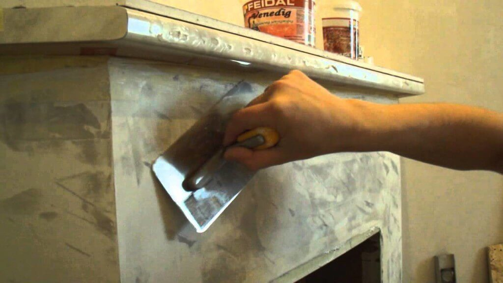 Раствор для замазки печи своими руками