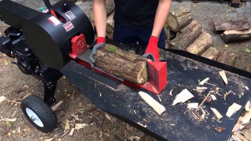 Электроколун для дров
