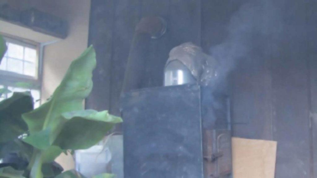 дымит печь в доме что делать