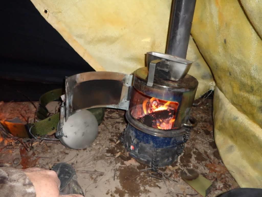 печка для палатки