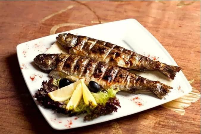 рыба на углях на решетке рецепт