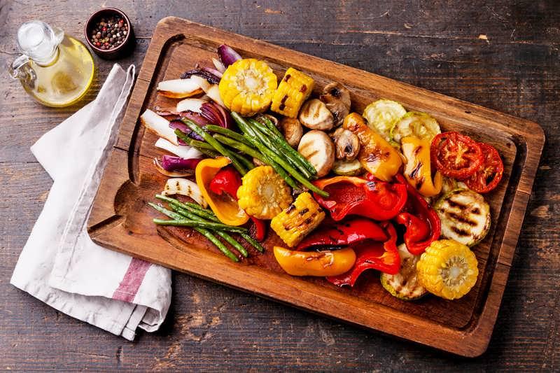 овощи на мангале рецепты с фото решетка
