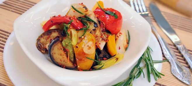 овощи на мангале маринад