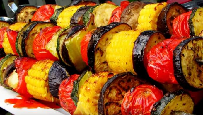 маринад для овощей на мангале