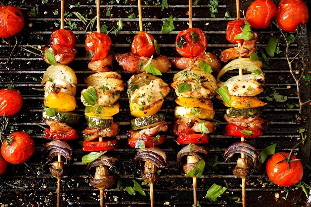 какие овощи жарят на мангале